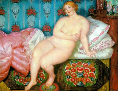 Mulher gorda bonita
