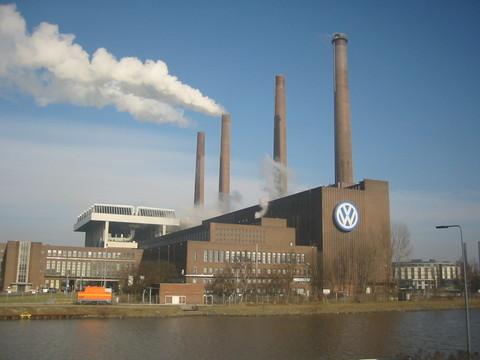 Fábrica da Volkswagen na cidade alemã de Wolfsburg.